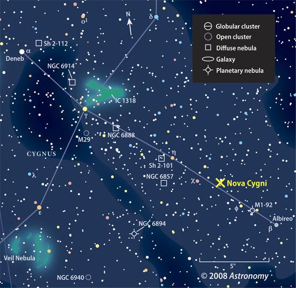 Astronomy Star Chart