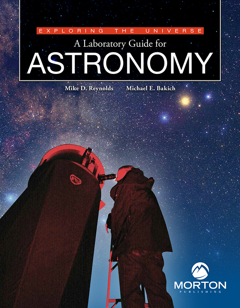 New Michael Bakich, Mike Reynolds astronomy lab manual
