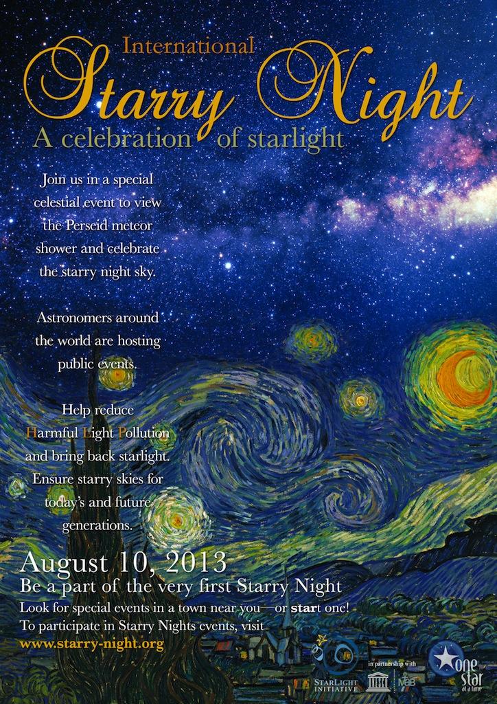 Guest blog: Audrey Fischer on the International Starry Night