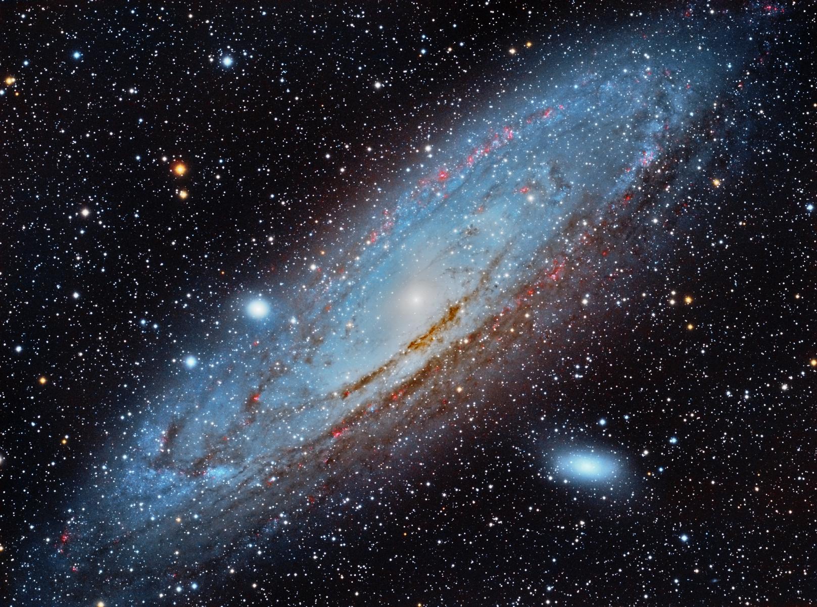 Andromeda Galaxy in HaRGB - Astronomy Magazine ...