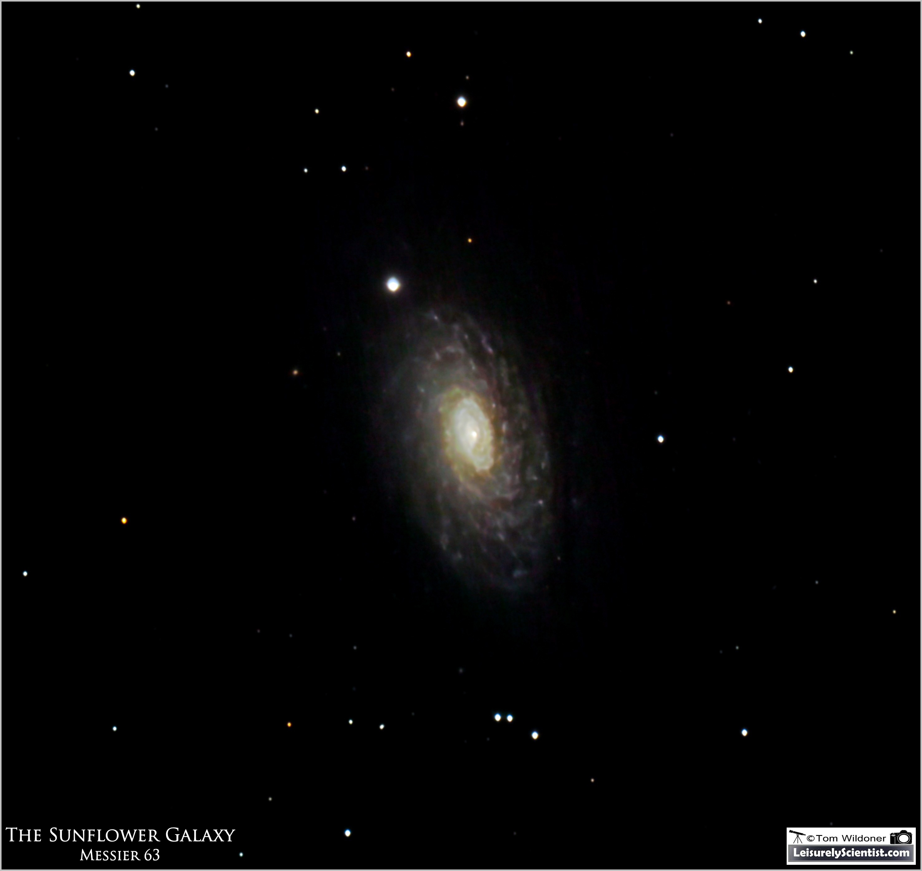 The Sunflower Galaxy (M63) - Astronomy Magazine ...
