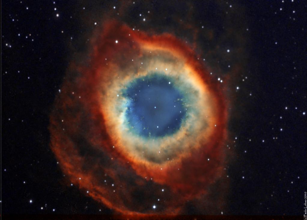 The Helix Nebula (NGC 7293) - Astronomy Magazine ...