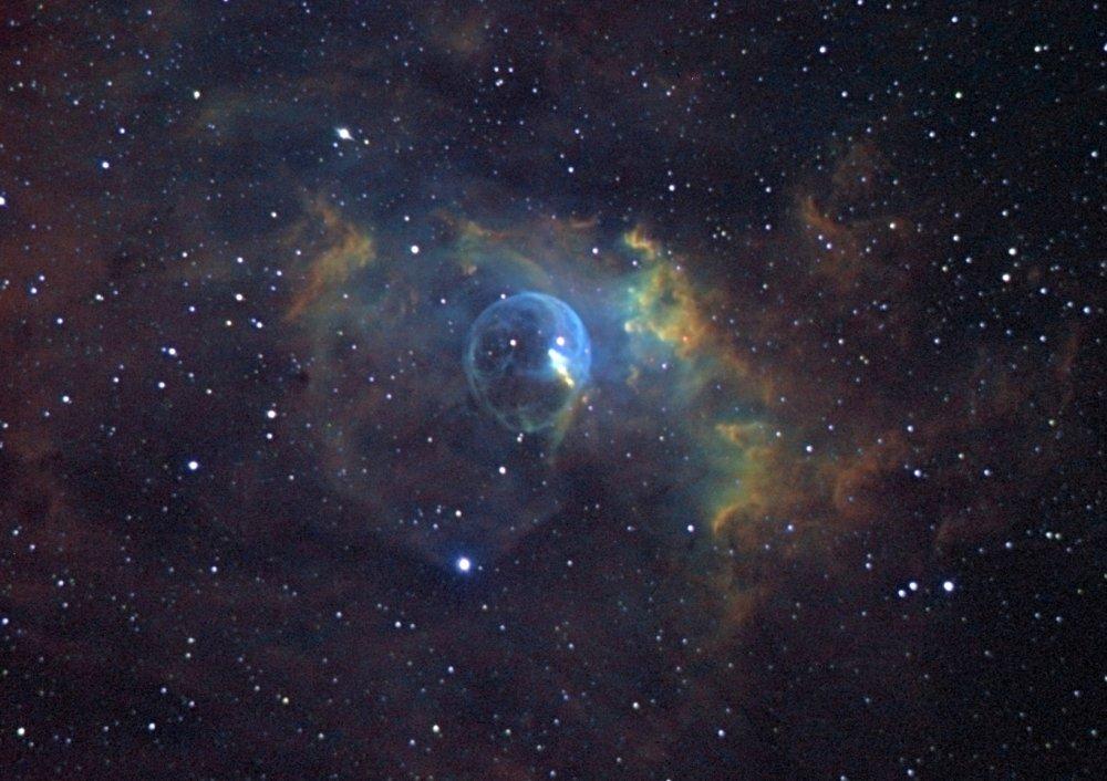 The Bubble Nebula (NGC 7635) - Astronomy Magazine ...