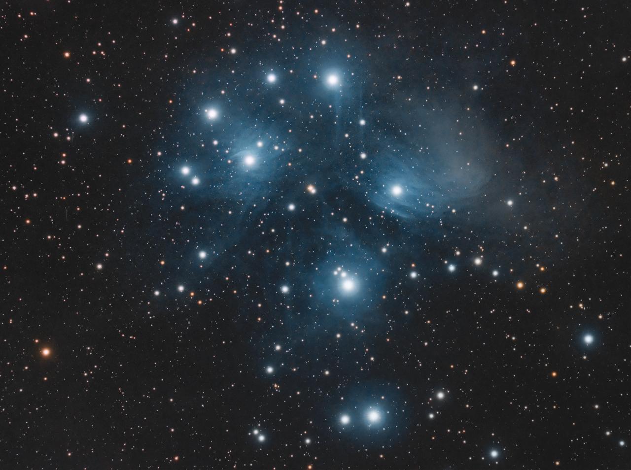 The Pleiades (M45) - Astronomy Magazine - Interactive Star ...