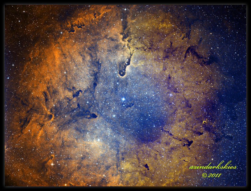 The Elephant Trunk Nebula in IC 1396 - Astronomy Magazine ...