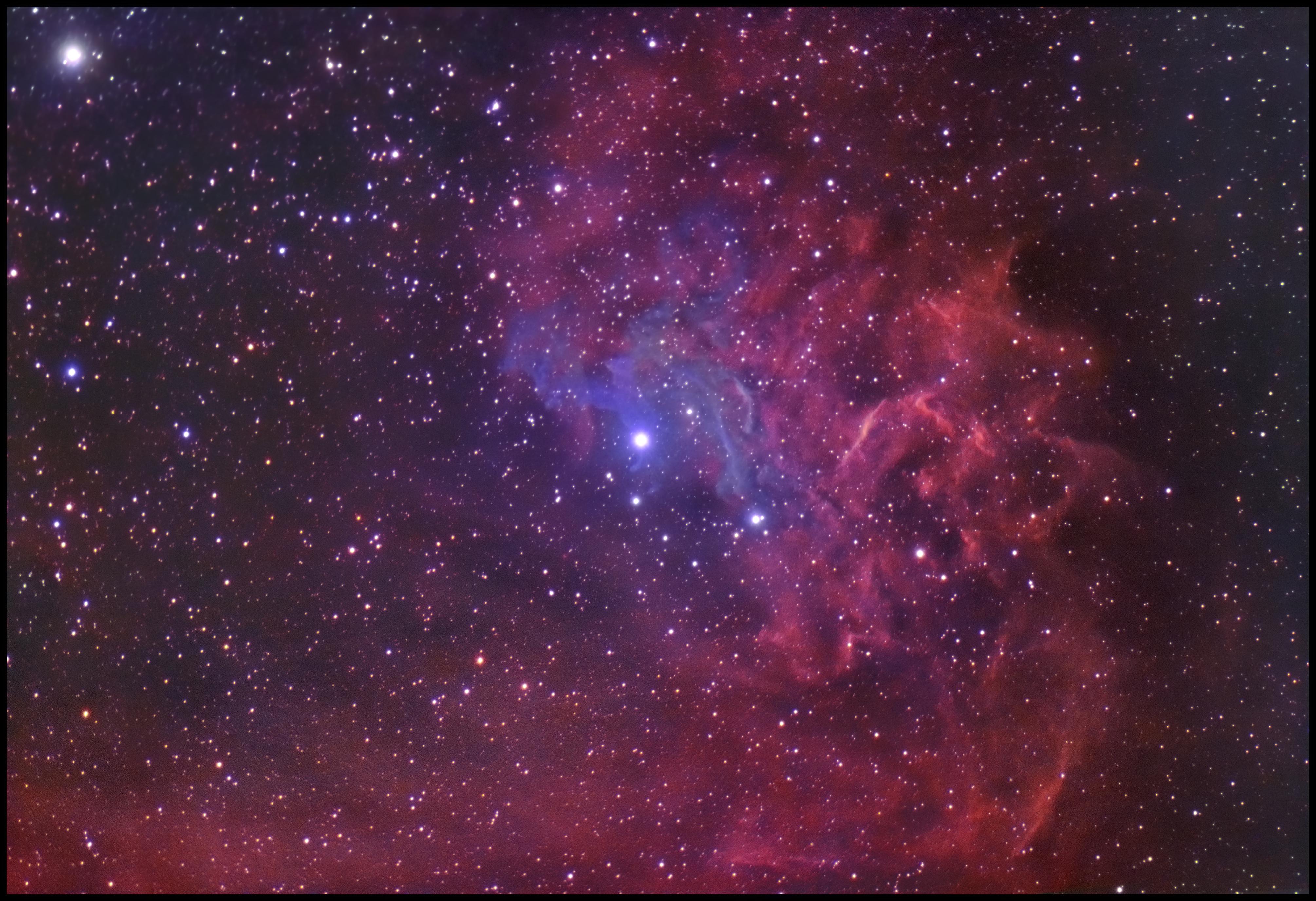 The Flaming Star Nebula (IC 405) in Auriga - Astronomy ...