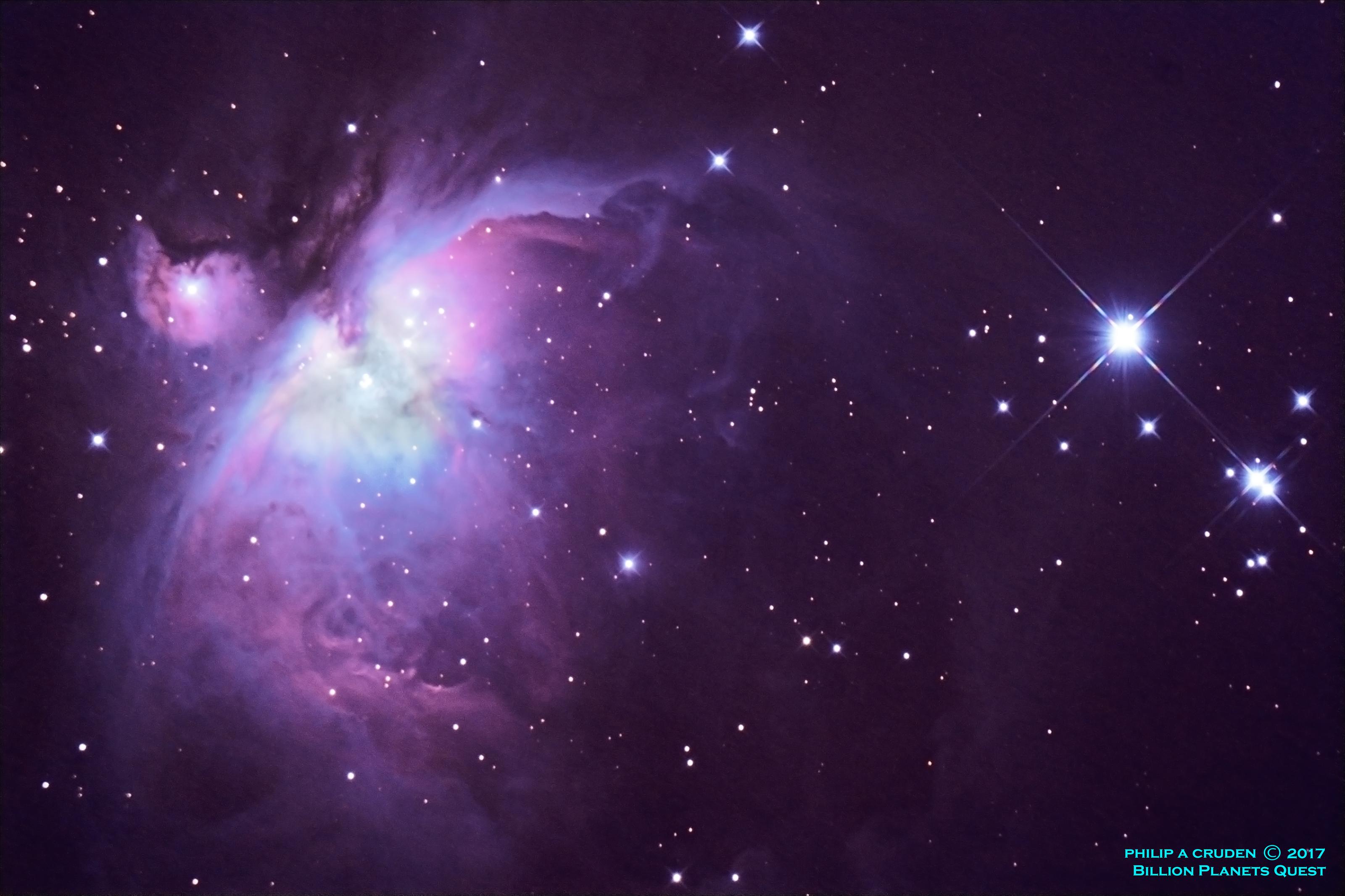 The Orion Nebula M42 Astronomy Magazine Interactive