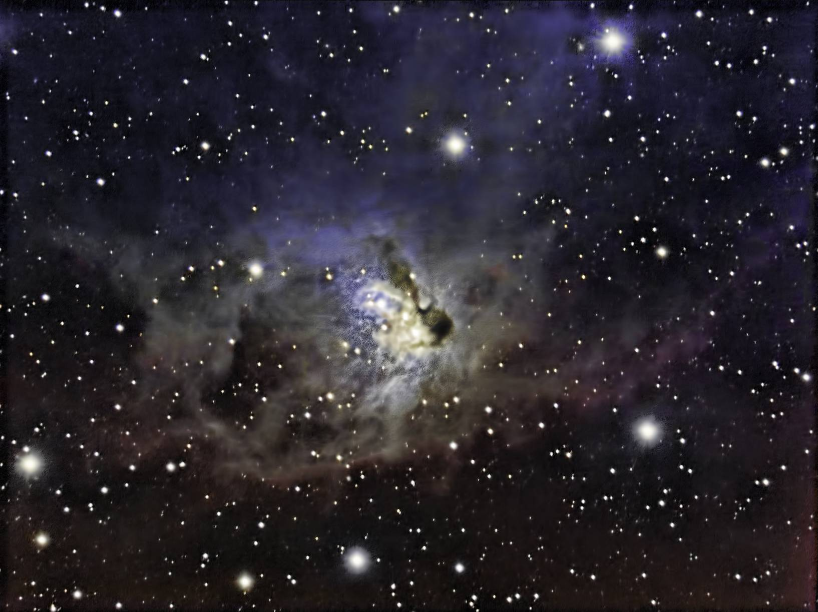 The Fox Face Nebula (NGC 1788) in Orion - Astronomy Magazine