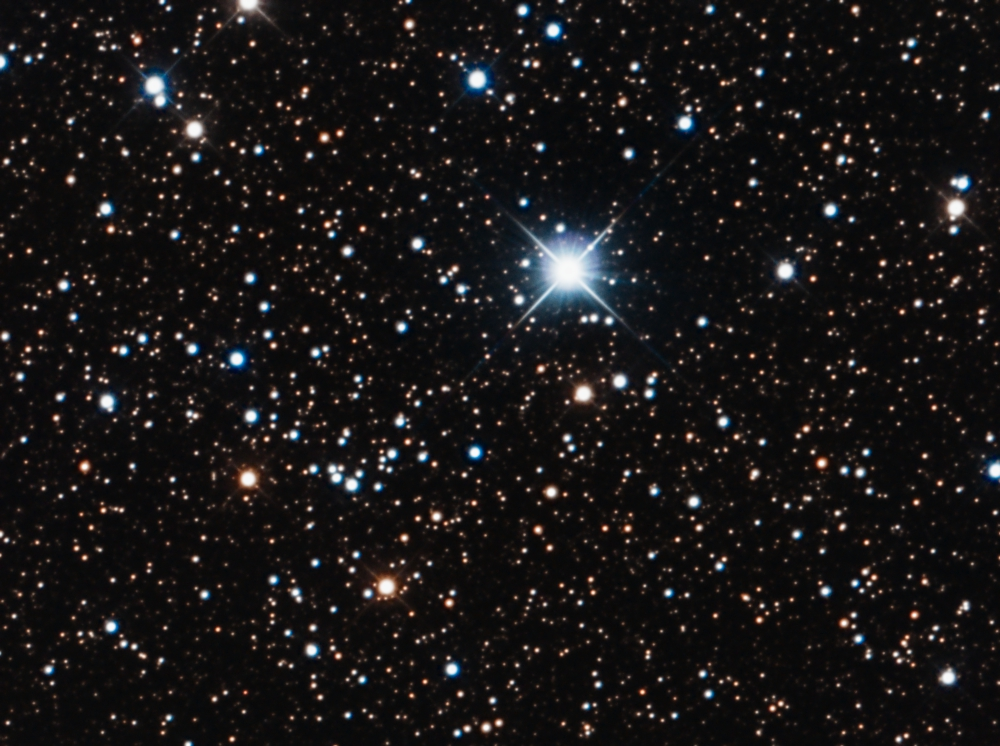 NGC 6882 and NGC 6885 - open clusters in Vulpecula ...
