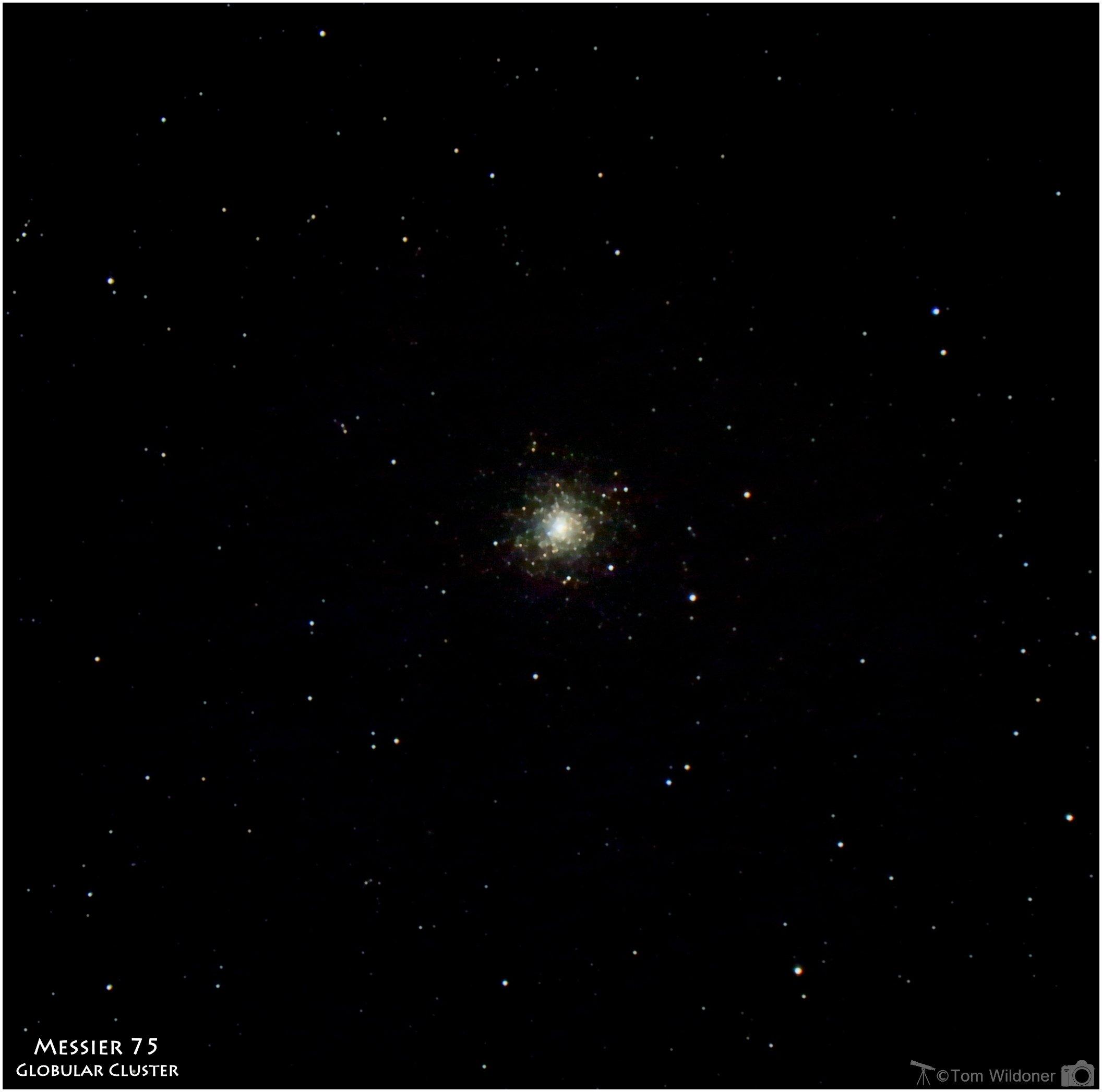 M75 – Globular cluster in Sagittarius - Astronomy Magazine
