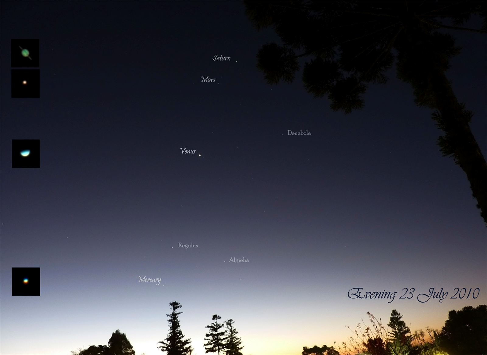 Planets From Telescope - Pics about space