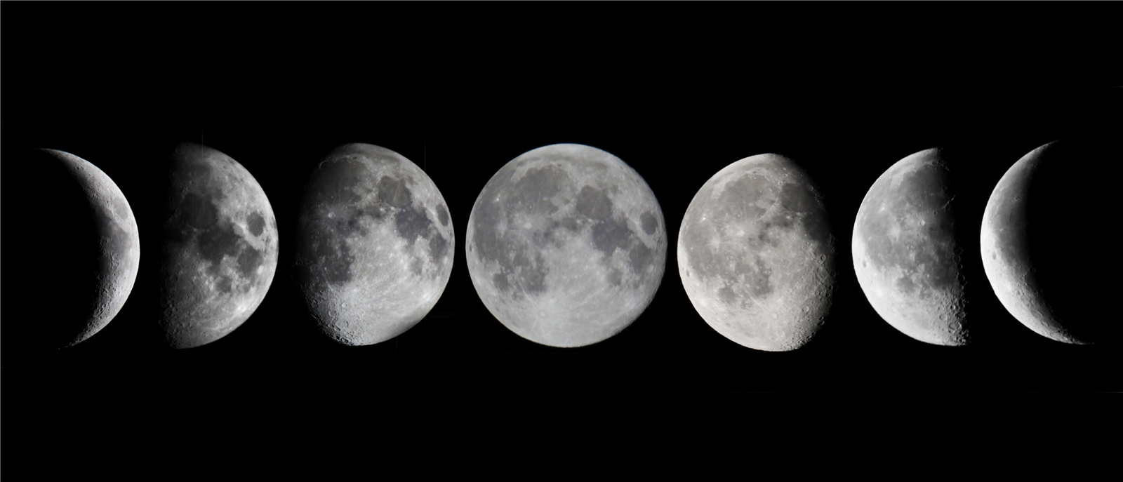 Moon Phases For Kids Interactive 7images of the moon taken