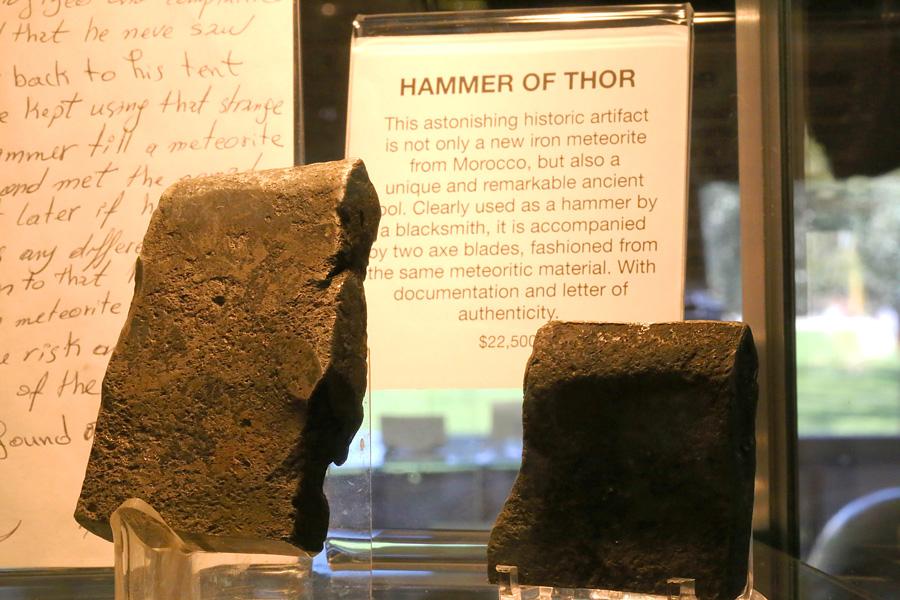 tucson 2014 hammer of thor aerolite meteorites astronomy