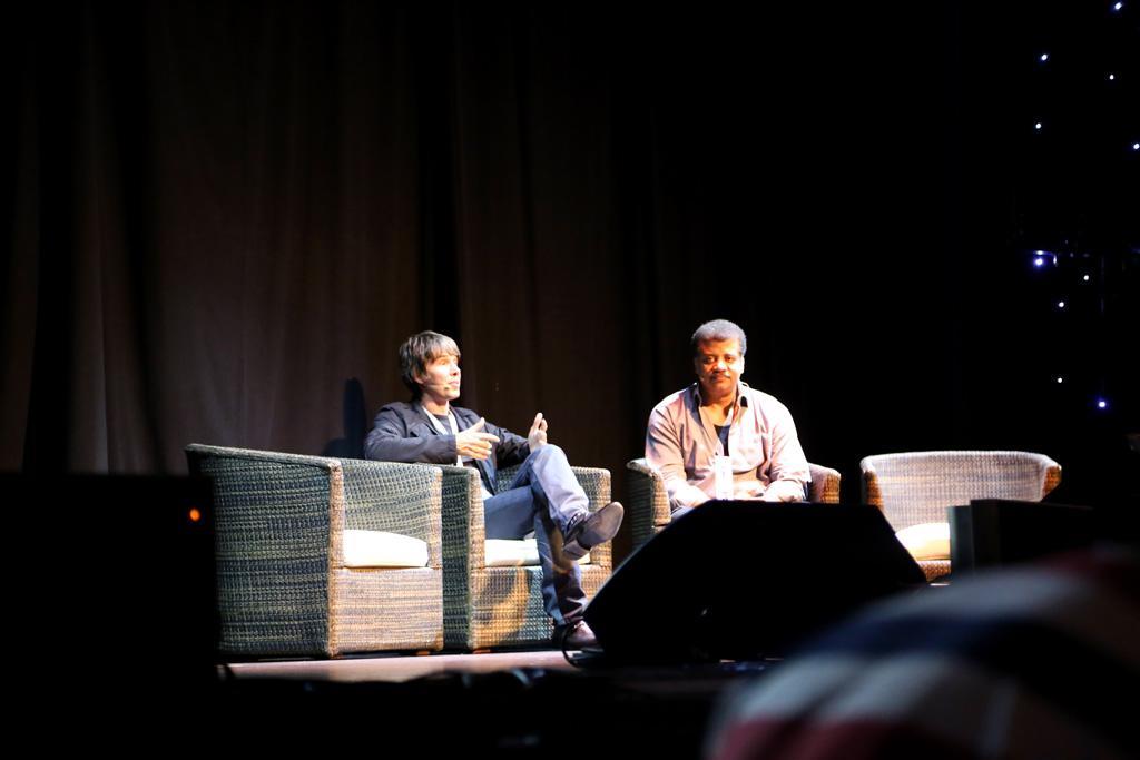 Starmus 2016: Brian Cox and Neil deGrasse Tyson ...