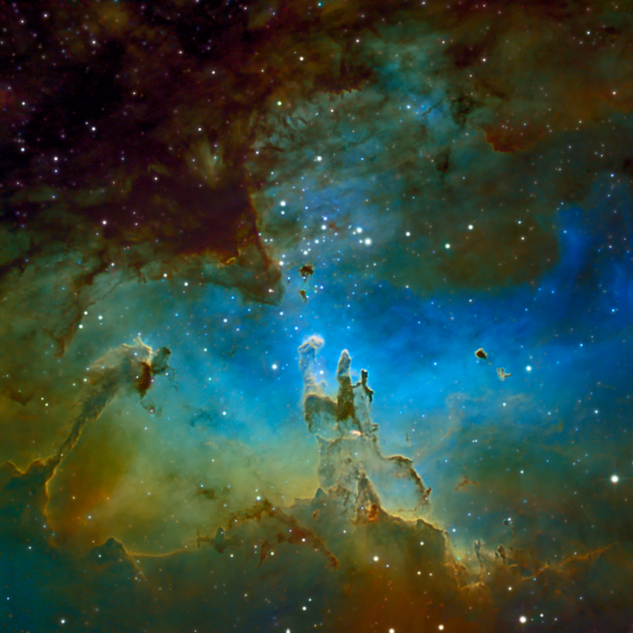 pillars of creation nebula wallpaper - photo #9
