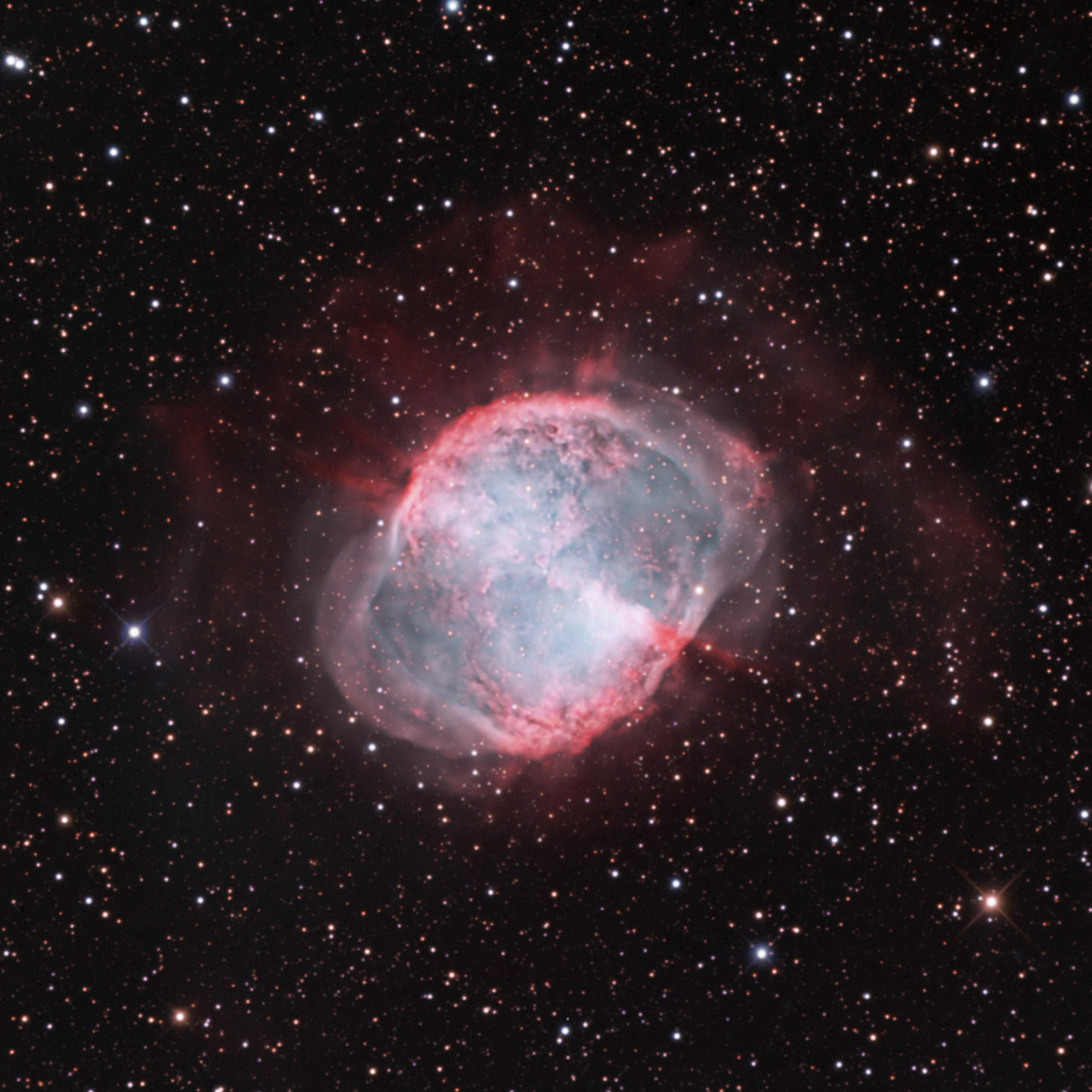 The Dumbbell Nebula (M27) in Vulpecula - Astronomy ...