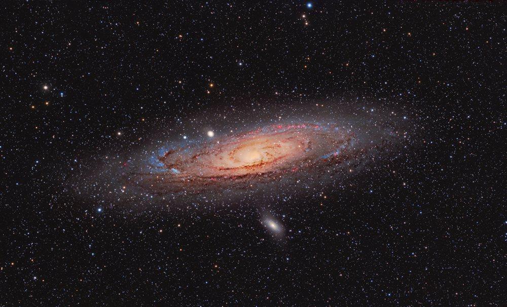 andromeda galaxy planets - 1000×606