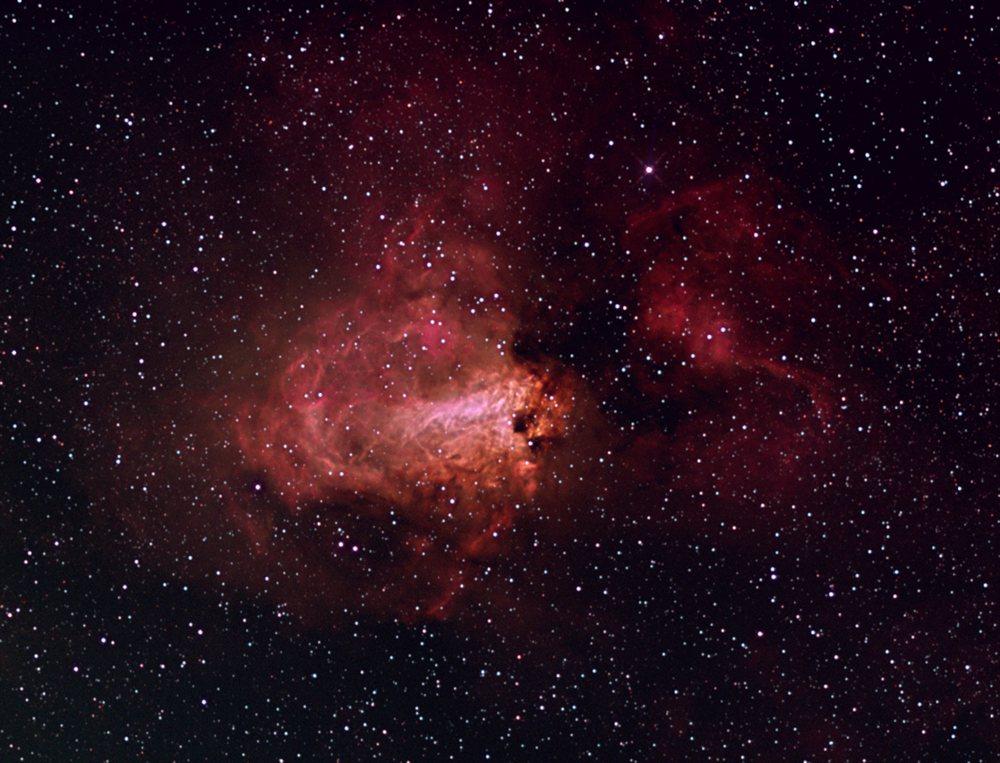 The Omega Nebula (M17) - Astronomy Magazine - Interactive ...