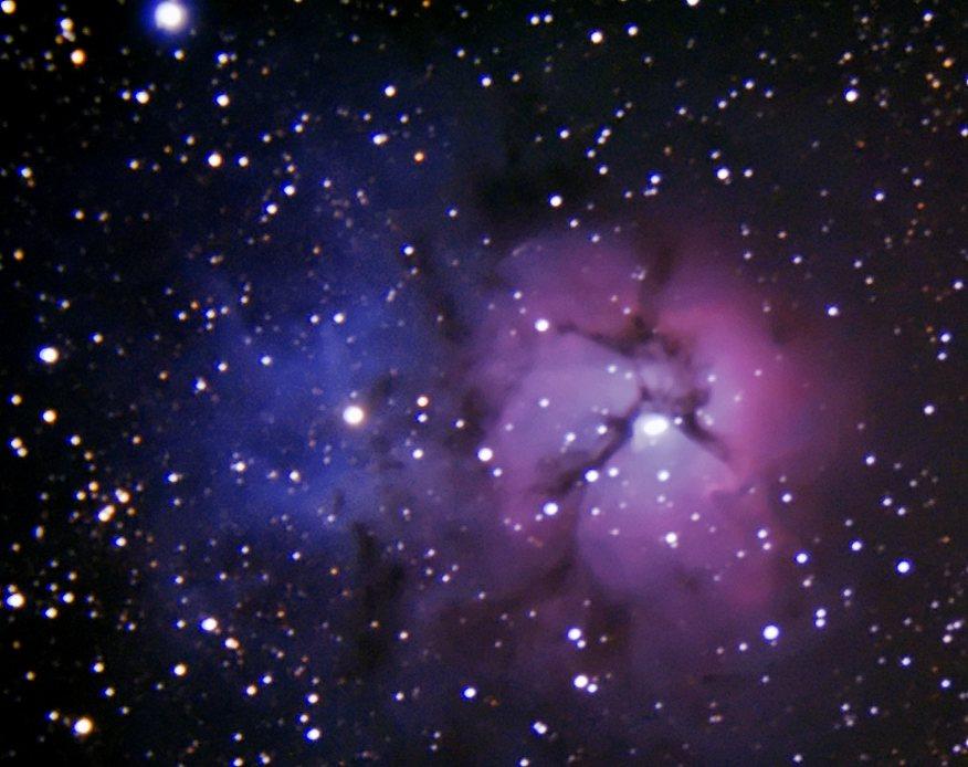 The Trifid Nebula (M20) - Astronomy Magazine - Interactive ...