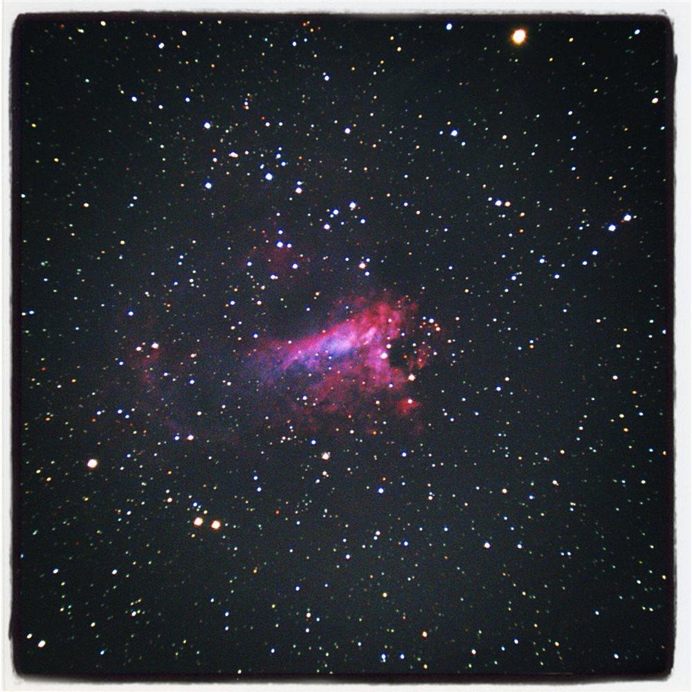 omega nebula 8 inch telescope - 1000×1000