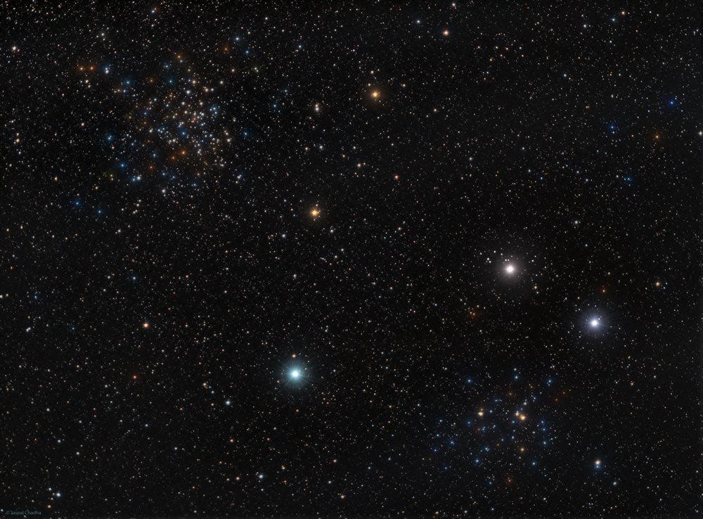 NGC 1528 + NGC 1545 - Astronomy Magazine - Interactive ...