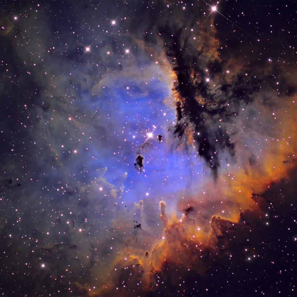 pacman nebula - photo #32