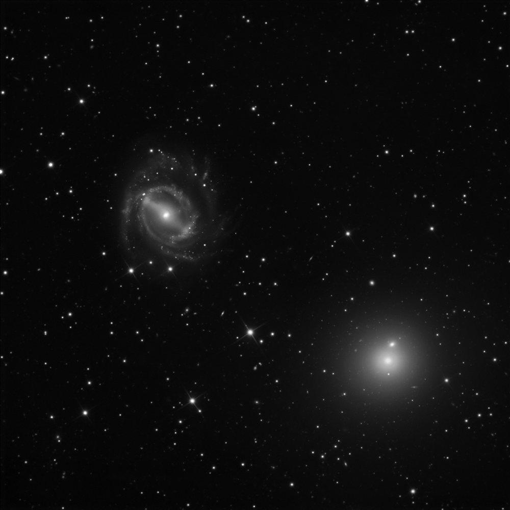 NGC 5850 + NGC 5846 - Astronomy Magazine - Interactive ...